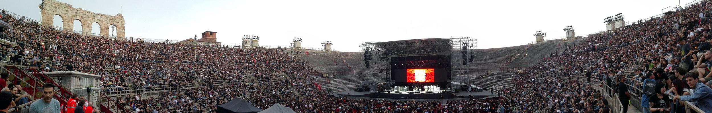 06.Verona giugno 2016 concerto Black Sabbath Arena.panoramab