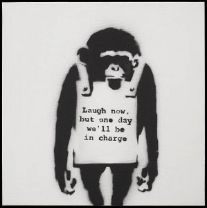 Banksy_Laugh Now